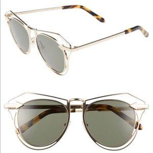 Karen Walker Marguerite 52mm Sunglasses NWT